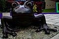 Frog sculpture in Callejones, Lares, Puerto Rico.jpg