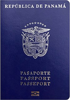 Panamanian passport passport