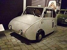 """View of a Fuldamobil """"Silver Flea"""""""