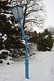 Gänserndorf im Schnee 2013 Laterne.jpg