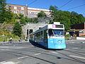 Göteborg tram line 8 at Chalmerstunneln.JPG