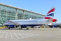 G-EUYW - A320 - British Airways