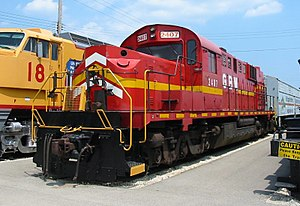 Green Bay and Western Railroad - Image: GBW 2407 at IRM