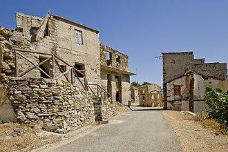 Gairo, Sardinia - Gairo Vecchio, Sardinia