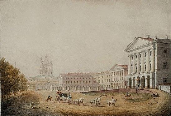 Galaktionov Smolny institute 1823