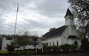 Gales Creek, Oregon - Church in Gales Creek