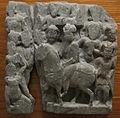 Gandhara, da saidu sharif I, rilievo con quattro incontri.JPG