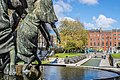 Garden Of Remembrance - Statue Of The Children of Lir by Oisín Kelly (Rebirth ^ Resurrection)The Garden Of Remembrance Was Designed By Dáithí Hanly - panoramio.jpg
