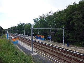 Moensberg railway station railway station in Belgium
