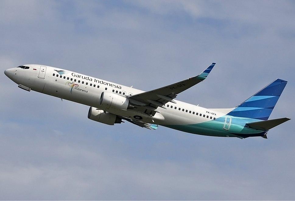 Garuda Indonesia Boeing 737-800 Spijkers-1