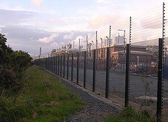 Rampside Gas Terminal - Perimeter fence
