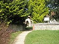 Gate entrance to St James Church - geograph.org.uk - 1193300.jpg
