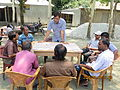Gathering in a meeting of villagers in an Bangladeshi village 2015 31.jpg