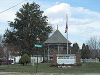 Gazebo in park, Randolph, Ohio.jpg