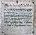 Gedenktafel Domplatz (Meißen) Allerheiligenkapelle.jpg