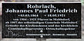 Gedenktafel Hönower Str 13 (Mahld) Johannes Paul Friedrich Rohrlach.jpg