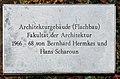 Gedenktafel Straße des 17 Juni 144 (Charl) Hermkes Scharoun.jpg