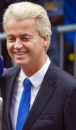 Geert Wilders op Prinsjesdag 2014 (cropped)