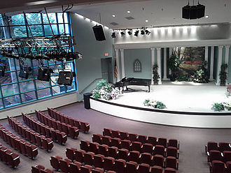 General Conference of Seventh-day Adventists - The General Conference Auditorium is part of the headquarters building in Silver Spring