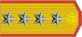 Ranks of the People's Liberation Army Ground Force - Image: General of the Army rank insignia (PRC)