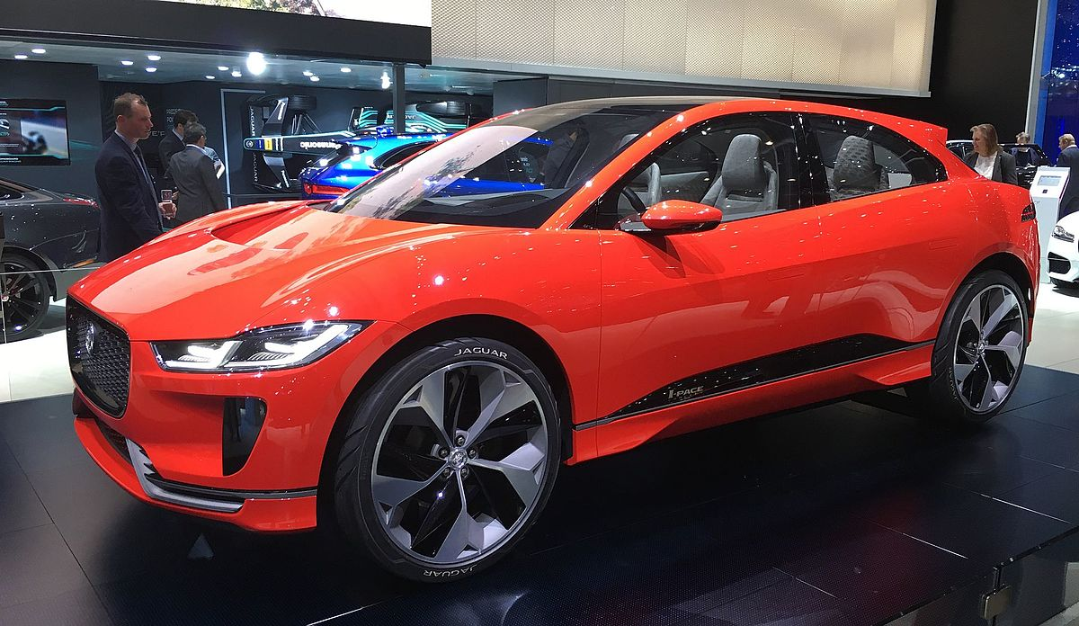 2016 Land Rover >> Jaguar I-Pace - Wikipedia, la enciclopedia libre