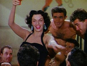 Jane Russell - Russell as Dorothy Shaw in Gentlemen Prefer Blondes (1953)