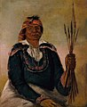 George Catlin - Ni-có-man, The Answer, Second Chief - 1985.66.275 - Smithsonian American Art Museum.jpg
