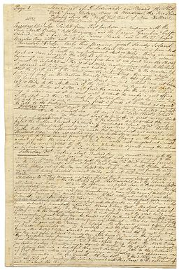 George Edward's Journal