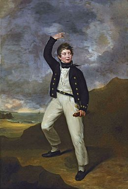George James Perceval, later 6th Earl of Egmont (1794-1874) by George Francis Joseph (1764-1846).jpg
