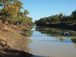 Georgina River river in Australia