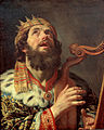 Gerard van Honthorst - King David Playing the Harp - Google Art Project.jpg