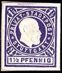 Germany Stuttgart 1889 local stamp 1.5pf - 16.jpg