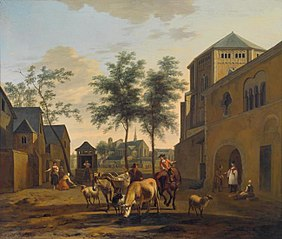 View of the Church of St. Gereon and St. Pantaleon's, Cologne