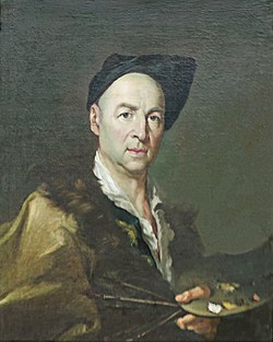 Giacomo Ceruti - self-portait - Pinacoteca di Brera, Milan (ritoccato) (crop).jpg