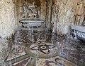 Giardino di castello, grotta degli animali o del diluvio, giochi d'acqua 02.jpg