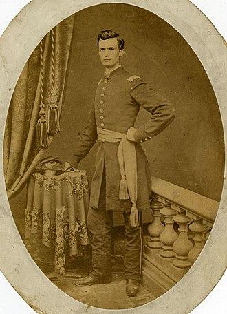Erasmus Corwin Gilbreath - Erasmus Gilbreath in Uniform, 1860s.