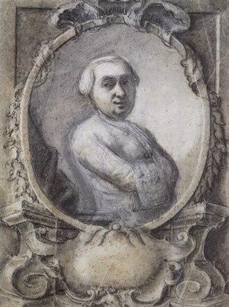Giovanni Ambrogio Migliavacca - Portrait of Migliavacca by Bartolomeo Nazari