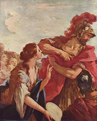 Jephthah - The Return of Jephtha, by Giovanni Antonio Pellegrini
