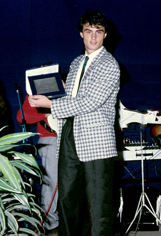 Giuseppe Giannini - Image: Giuseppe Giannini 1983