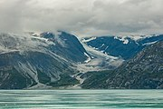 Glaciar Johns Hopkins, Parque Nacional Bahía del Glaciar, Alaska, Estados Unidos, 2017-08-19, DD 135.jpg