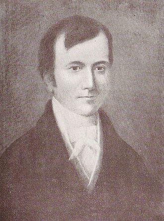 John Jones (Jac Glan-y-gors) - facsimile from a reprint of his work Seren Tan Gwmmwl.