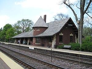 Glencoe station - Glencoe Metra Station