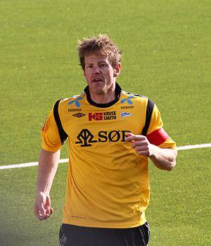 Glenn Andersen - Glenn Andersen play against Mjøndalen IF, May 2012.
