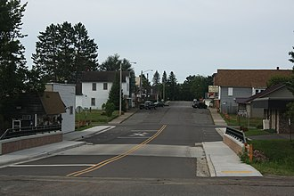 Glidden, Wisconsin - Image: Glidden Wisconsin Downtown Looking West