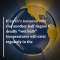 File:Global warming and wet bulb temperatures might make the tropics uninhabitable.webm