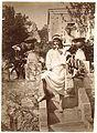 Gloeden, Wilhelm von (1856-1931) - n. 0162 B & Crupi - Recto - Neddu con la rosa in bocca, Panella - 1911.jpg