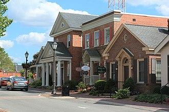 Gloucester Courthouse, Virginia - Image: Gloucester va courthouse region 2