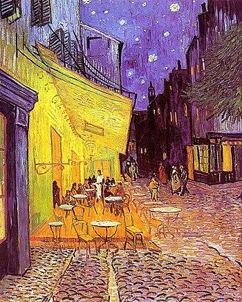 Винсент ван Гог Ночная терраса кафе, 1888
