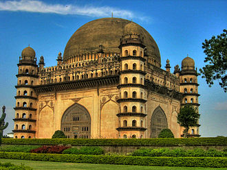 History of Karnataka - Gol Gumbaz, tomb of Mohammed Adil Shah, seventh Sultan of Bijapur