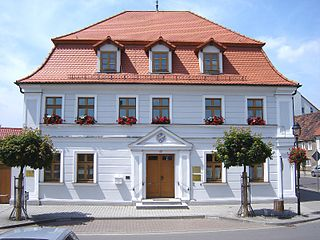 Gommern Place in Saxony-Anhalt, Germany